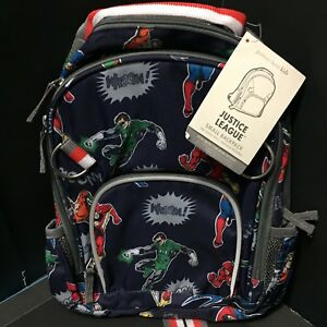 Pottery Barn Kids Small Justice League Black Backpack