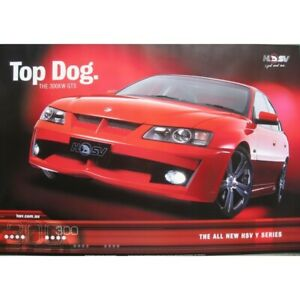 HOLDEN-COMMODORE-HSV-POSTER-Y-SERIES-TOP-DOG-91-x-61-cm-36-034-x-24-034