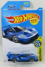 2017 - Hot Wheels - HW SPEED GRAPHICS 1/10 - 2016 FORD GT RACE 166/365
