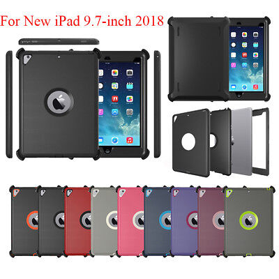 online store 8cd48 a5f48 For iPad 9.7 2018 (iPad 6th Gen) Defender Case (Shield Stand Fits for  Otterbox)   eBay