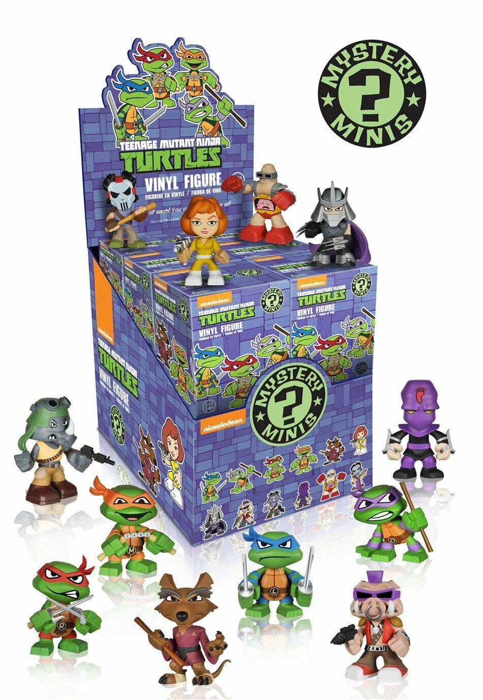 Funko Mystery Minis Vinyl Figures Teenage Teenage Teenage Mutant Ninja Turtles (Full CDU of 12) 62e934