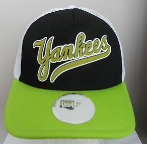 Caricamento dell immagine in corso NEW-York-Yankees-Nuovo-Camionista-New-Era -Cappellino- 4731b7393333