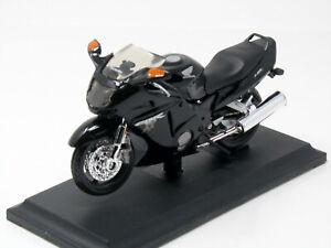 Modello-1-18-MOTO-HONDA-CBR-1100-XX-nero-con-socket-Maisto
