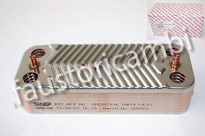 Immergas scambiatore 16 piastre art 1022221 caldaia nike for Caldaia immergas eolo maior 28 kw