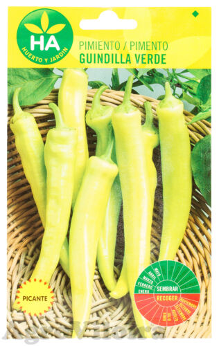 2 Grams 300 Seeds 0.07oz Small Yellow Cayenne Pepper
