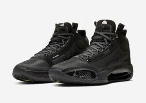 Mens Nike Air Jordan Retro 34 Black Cat
