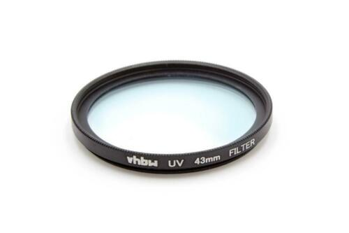Universal Protective UV Filter 43mm for Samsung NX Lens 16-50 mm F3.5-5.6