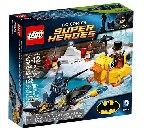 LEGO Super Heroes 76010 Batman: The Penguin Face Off Set New In Box Sealed