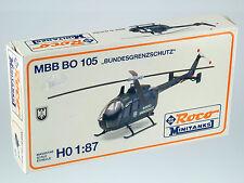 Roco Minitanks 401 MBB BO 105 Bundesgrenzschutz 1:87 m. Anleitung  OVP 2nd Hand