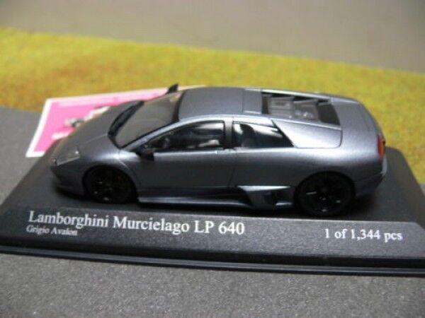 1 43 Minichamps Minichamps Minichamps LAMBORGHINI MURCIELAGO LP 640 2006 GRIGIO METALLIZZATO 16132f