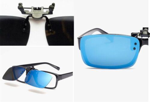 ELSA /& ANNA® Latest Design Unisex Flip-up Polarized Clip On Sunglasses K08PS-F12
