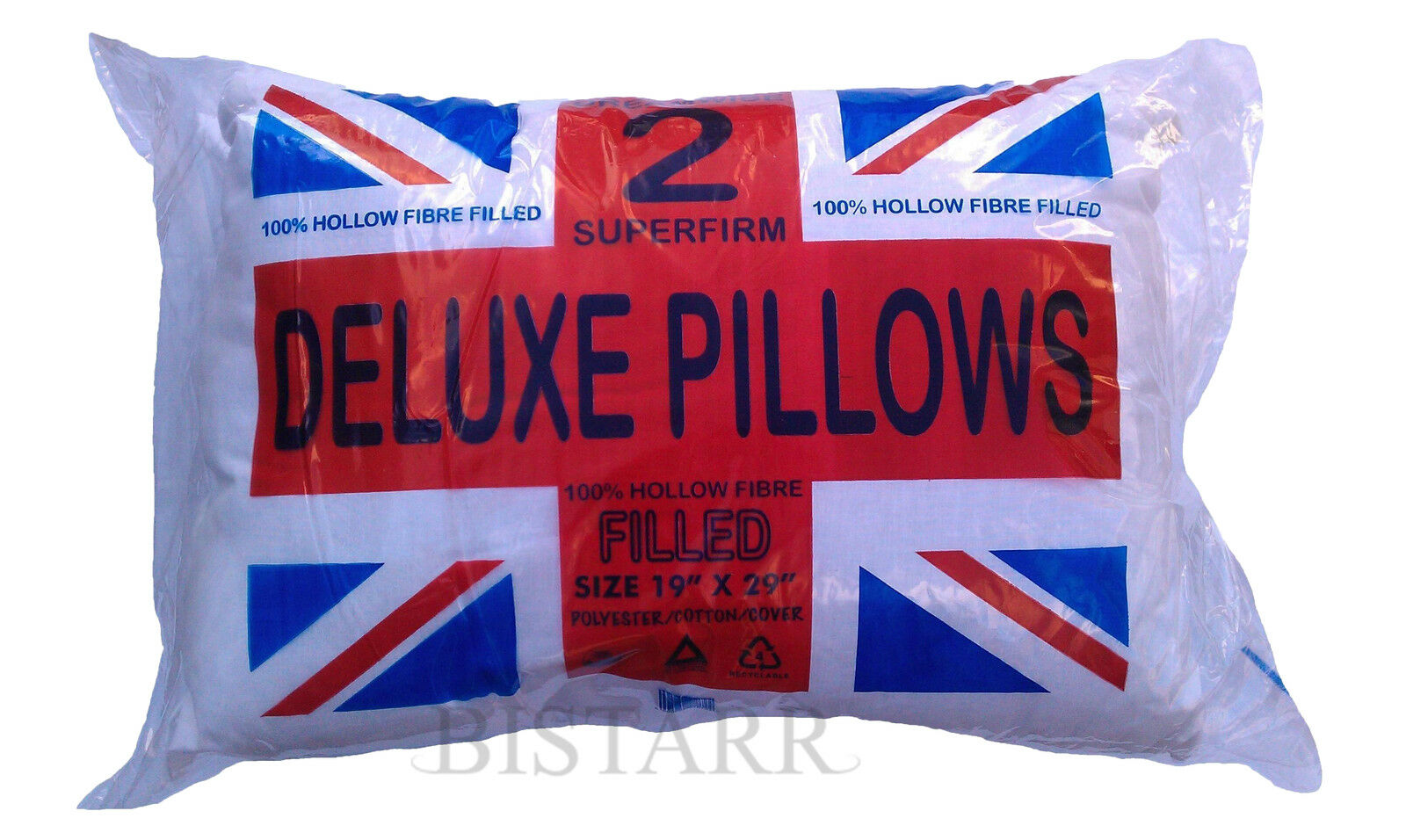 Range Of Pillows Deluxe Pair Bounce Back Extra Large