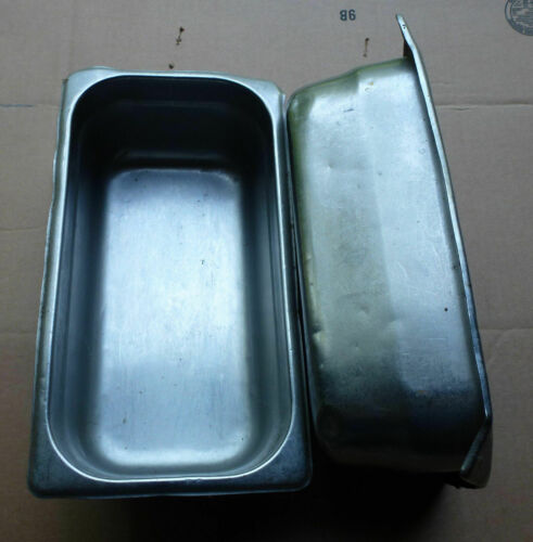 "Stainless Steel Third Size 4/"" Deep Steam Table Pan buffet 1//3rd"