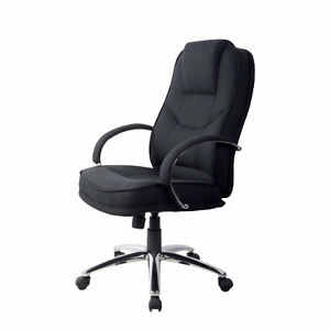 RS Soho Rome2 Fabric executive office chair in black 8717868134205 ...
