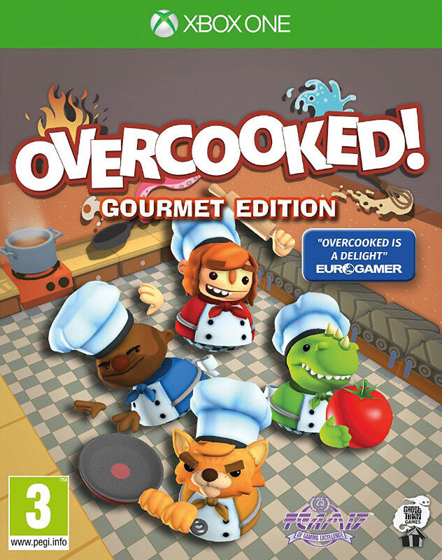Xbox One Overcooked: Gourmet Edition (brand new)