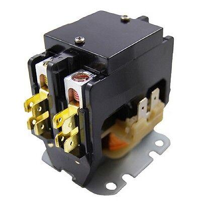 2 Pole Contactor Relay 40 Amps 120V Coil 50/60Hz HVAC AC Air Conditioner  Repair 89836962744 | eBay