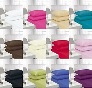 AmigoZone-Non-Iron-Percale-Fitted-Sheet-Single-Double-King-Super-king