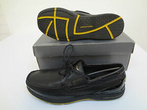 Print Rockport Lizard Schooner Casual Shoes Shoes Dynamic Dress Suspension Black 6qqtwrv