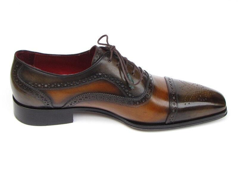 Paul Parkman uomo Captoe Oxfords CAMEL & Olive Olive Olive Scarpe (ID 024-OLV) | Moda  | Uomo/Donne Scarpa  aebe0d