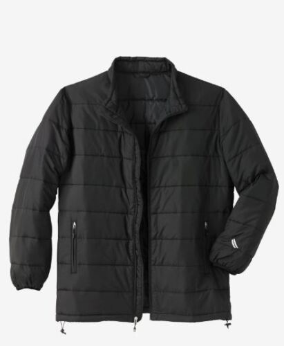 2XL-8XL NWT MEN PLUS SİZE BİG AND TALL Lightweight Down Jacket MSRP $99.99 Size