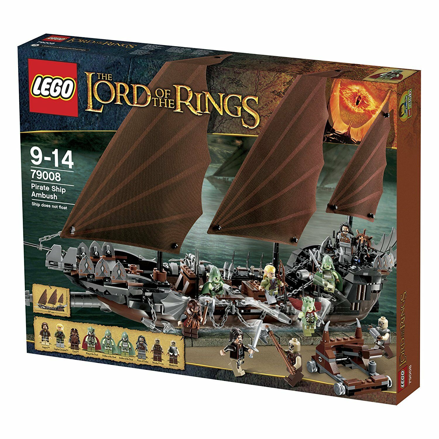 Lego Lord of the Rings 79008  L'embuscade du bateau pirate