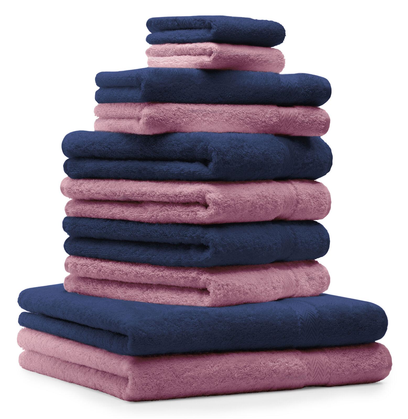 Betz 10tlg 10tlg 10tlg Handtuch Set PREMIUM Duschtuch Handtücher Gästetuch Waschhandschuhe     | Ausgezeichnet (in) Qualität  755fc0
