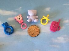 BARBIE HAPPY FAMILY CHRISSY  NIKKI BABY NURSERY PACIFIER RATTLE MONITOR BEAR +