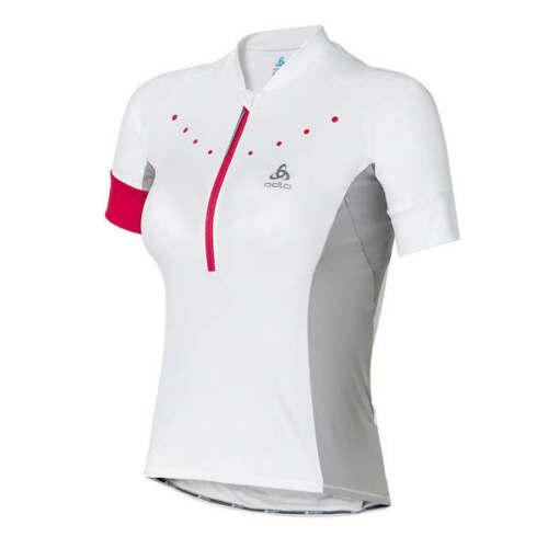 NWT Odlo Womens Gavia Stand Cycling Jersey Cycle Bike Top T-Shirt