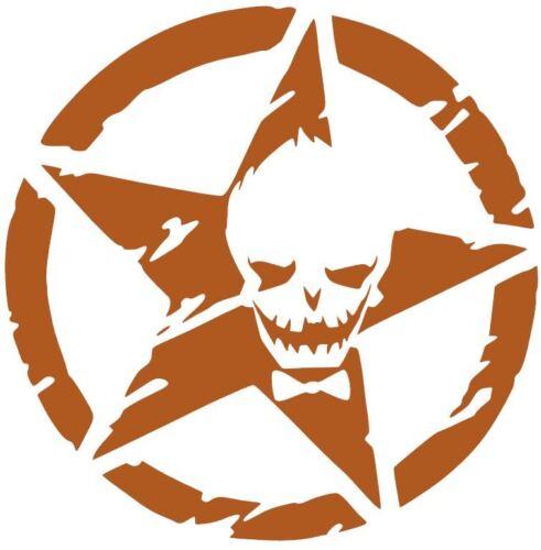 JEEP DECAL STAR JOKER SUICIDE SQUAD ARMY DC COMICS CAR STICKER VINYL BATMAN