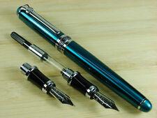 Duke Green Fountain pen Interchangeable Calligraphy Leather Pen Case Set D247