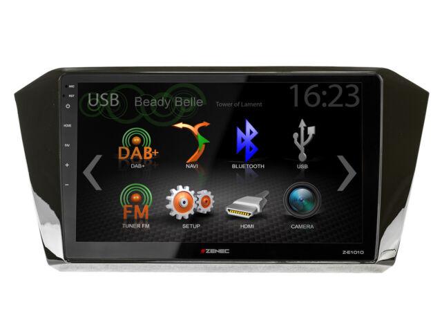 For VW Passat 3G B8 Car Radio GPS UKW DAB+ USB Bluetooth Apple Carplay