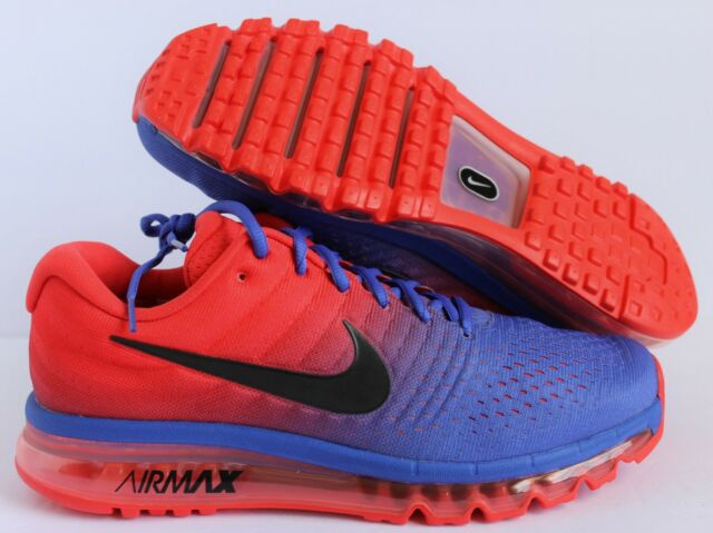 cheap for discount 58796 293d8 Nike Air Max 2017 PARAMOUNT BLUE RED SUPER SPIDER MAN SZ 12.5  849559-402