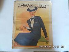 LE PETIT ECHO DE LA MODE N°16 16/04/1939 MODELES DE TRICOTS DE PRINTEMPS     K39