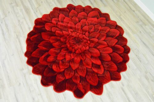 FLOWERS Hand Carved 3D Artistic Realistic Thick Floral Flower Rose Design 303