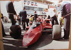 137 . 1 X Photo . Courses Automobiles . Format : 18 X 24 Cm . ArôMe Parfumé