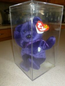 7dc485d96d9 1997 TY Princess Diana of Wales Beanie Baby P.E Pellets 2nd Edition ...