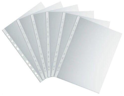 100 Prospekthüllen glasklar A4 Klarsichthüllen 50 my