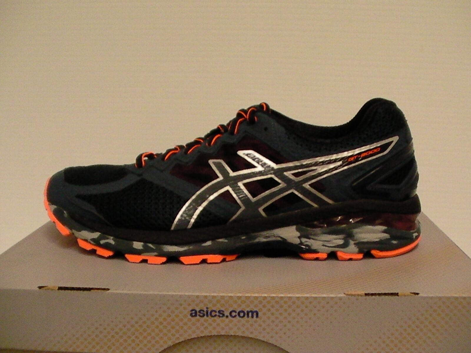 Asics men training running shoes gel GT 2000 4Trail size 7.5 us new with box