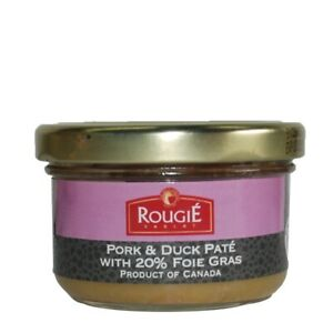 3-Rougie-French-Brand-PORK-DUCK-PATE-20-FOIE-GRAS-Fine-Gourmet-Food-Gift-New