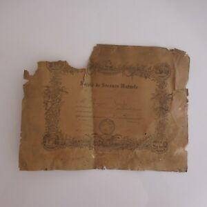 Postal-Sociedad-Repuesto-Mutua-Confalonis-Santa-Cruz-1881-Niza-XIX-Paris-Mesrel