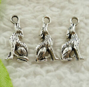 Free-Ship-134-pieces-tibet-silver-rabbit-charms-20x10mm-B4886