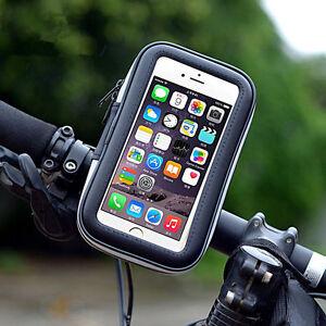 Bike-Motorcycle-Handlebar-Mount-Holder-Waterproof-Case-Bag-For-iPhone-6-6s-Plus