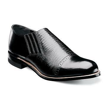 Stacy Adams Men's Madison Black Slip-on shoes 00067-001