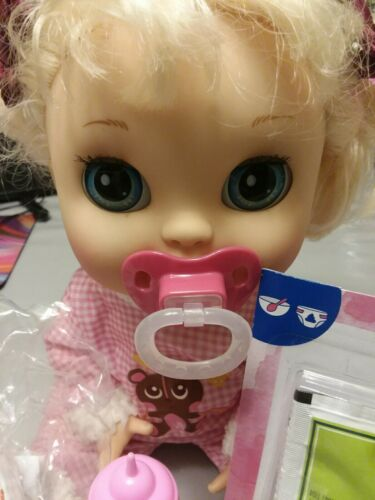 PACI BABY ALIVE REFILL PACK SUPPLIES DIAPERS FOOD BOTTLE  NO DOLL INCLUDED