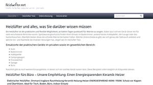Heizluefter-net-Webprojekt-Webseite-Affiliate-Nischenseite-Geld-verdienen