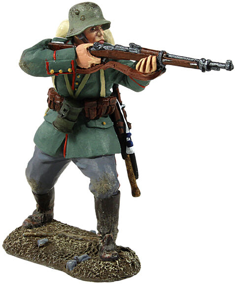 BRITAINS SOLDIERS 23008 - 1916-18 German Infantry Advancing Firing WW1