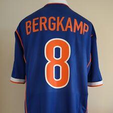 Holland Away Football Shirt Adult XL BERGKAMP #8 1998/2000 Netherlands