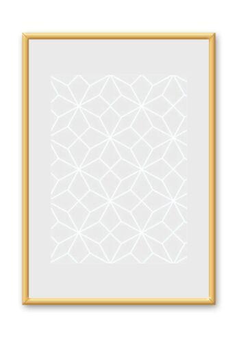 Alurahmen Plakatrahmen Bilderrahmen Silber Schwarz Gold Weiss Rot 40X60