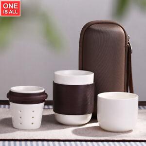 Image is loading Japanese-Teapot-Ceramic-Portable-Travel-Tea-Set-Coffee- & Japanese Teapot Ceramic Portable Travel Tea Set Coffee Mug Travel ...