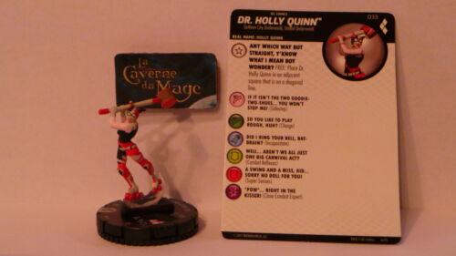 HEROCLIX HARLEY QUINN AND THE GOTHAM GIRLS #033 Harley Quinn *Rare*